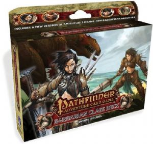 Pathfinder : Add-on Deck – Barbarian Class